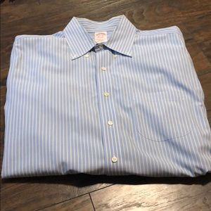 "Brooks Bros ""the original polo"" dress shirt"